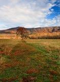 βουνά όρμων χρωμάτων φθινοπώ&rh Στοκ φωτογραφία με δικαίωμα ελεύθερης χρήσης