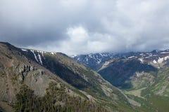 Βουνά Absaroka Στοκ φωτογραφία με δικαίωμα ελεύθερης χρήσης