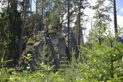 Βουνά AdrÅ ¡ pach Στοκ Εικόνες