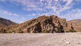 Βουνά Al Hajar στο Ομάν απόθεμα βίντεο