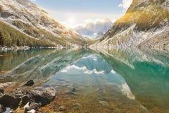 Βουνά Altai, Ρωσία, Σιβηρία Στοκ Εικόνα