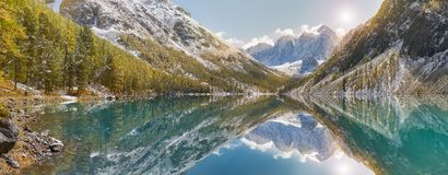 Βουνά Altai, Ρωσία, Σιβηρία Στοκ Φωτογραφίες