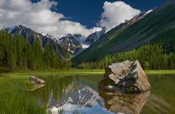 Βουνά Altai Στοκ φωτογραφία με δικαίωμα ελεύθερης χρήσης