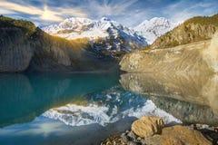 Βουνά Annapurna στα Ιμαλάια του Νεπάλ Στοκ φωτογραφία με δικαίωμα ελεύθερης χρήσης