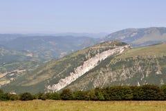 Βουνά Apennines Στοκ φωτογραφία με δικαίωμα ελεύθερης χρήσης