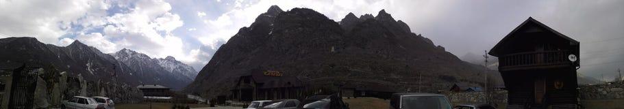 Βουνά Balkaria Στοκ φωτογραφία με δικαίωμα ελεύθερης χρήσης