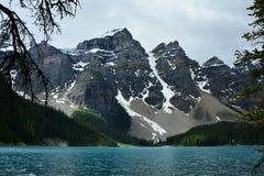 Βουνά Banff Αλμπέρτα, Καναδάς Στοκ Φωτογραφία