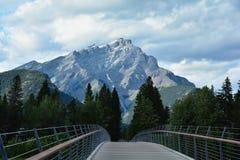 Βουνά Banff Αλμπέρτα, Καναδάς Στοκ Εικόνα