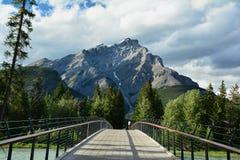 Βουνά Banff Αλμπέρτα, Καναδάς Στοκ Εικόνες
