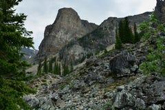 Βουνά Banff Αλμπέρτα, Καναδάς Στοκ φωτογραφία με δικαίωμα ελεύθερης χρήσης