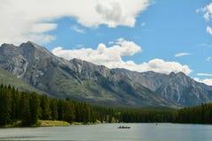 Βουνά Banff Αλμπέρτα, Καναδάς Στοκ εικόνα με δικαίωμα ελεύθερης χρήσης