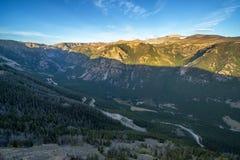 Βουνά Beartooth Στοκ φωτογραφία με δικαίωμα ελεύθερης χρήσης