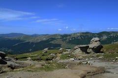 Βουνά Bucegi οροπέδιων Στοκ εικόνες με δικαίωμα ελεύθερης χρήσης
