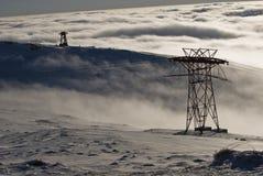 βουνά bucegi Στοκ Εικόνα