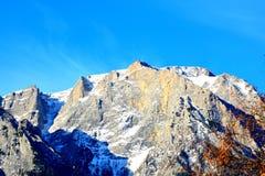 Βουνά Bucegi Carpathians στα βουνά Στοκ εικόνα με δικαίωμα ελεύθερης χρήσης