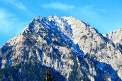 Βουνά Bucegi Carpathians στα βουνά Στοκ Εικόνες