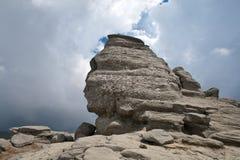 βουνά bucegi sphinx Στοκ εικόνα με δικαίωμα ελεύθερης χρήσης