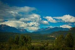 Βουνά Bugaboo Στοκ Φωτογραφίες