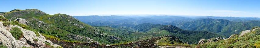 Βουνά Cevennes Στοκ Εικόνες