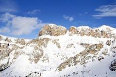 βουνά Di fassa Ιταλία val Στοκ εικόνα με δικαίωμα ελεύθερης χρήσης