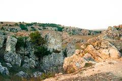 Βουνά Dobrogea, Ρουμανία Στοκ εικόνες με δικαίωμα ελεύθερης χρήσης