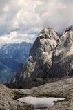Βουνά Dolomiti Στοκ Φωτογραφία