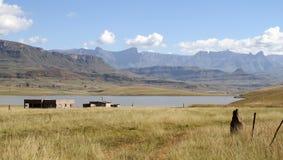 Βουνά Drakensberg Στοκ φωτογραφίες με δικαίωμα ελεύθερης χρήσης