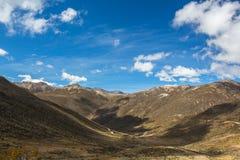 Βουνά EN Μέριντα Άνδεις Βενεζουέλα Στοκ φωτογραφία με δικαίωμα ελεύθερης χρήσης