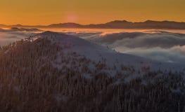 Βουνά Fatra Mala Στοκ Φωτογραφία