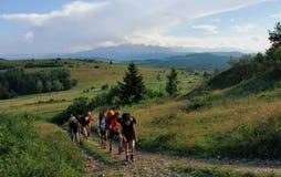 Βουνά Gorce Στοκ φωτογραφία με δικαίωμα ελεύθερης χρήσης