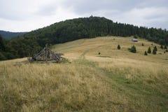 Βουνά Gorce Στοκ φωτογραφίες με δικαίωμα ελεύθερης χρήσης