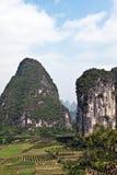 βουνά guilin της Κίνας Στοκ φωτογραφία με δικαίωμα ελεύθερης χρήσης