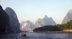 βουνά guilin της Κίνας Στοκ Εικόνες
