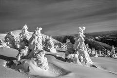 Βουνά HDR Στοκ εικόνες με δικαίωμα ελεύθερης χρήσης