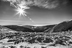 Βουνά HDR Στοκ Εικόνες