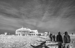 Βουνά HDR Στοκ εικόνα με δικαίωμα ελεύθερης χρήσης