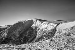 Βουνά HDR Στοκ Φωτογραφίες