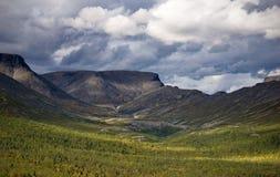 Βουνά Hibiny Στοκ εικόνα με δικαίωμα ελεύθερης χρήσης