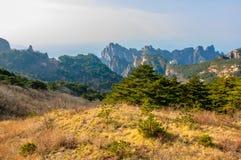 Βουνά Huangshan στοκ εικόνα