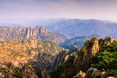 Βουνά Huangshan στοκ εικόνες με δικαίωμα ελεύθερης χρήσης