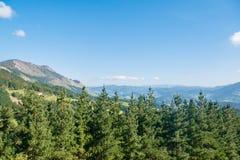 Βουνά Izarraitz στη βασκική χώρα, Ισπανία Στοκ εικόνες με δικαίωμα ελεύθερης χρήσης