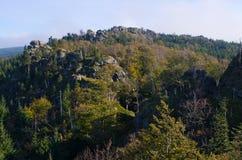Βουνά Jizera, Τσεχία στοκ εικόνες