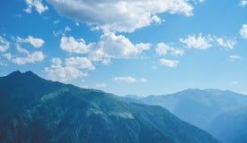Βουνά Kackar με το πράσινο δασικό landscapei ν Rize, Τουρκία Στοκ εικόνες με δικαίωμα ελεύθερης χρήσης