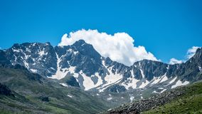 Βουνά Kackar στην περιοχή Μαύρης Θάλασσας Karadeniz, της Τουρκίας στοκ φωτογραφία με δικαίωμα ελεύθερης χρήσης
