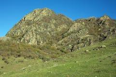 Βουνά karachai-Cherkess Στοκ εικόνα με δικαίωμα ελεύθερης χρήσης