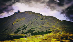 Βουνά Karkonosze στην Πολωνία Στοκ φωτογραφίες με δικαίωμα ελεύθερης χρήσης