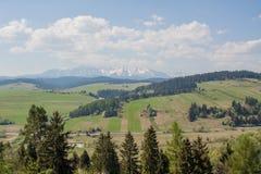 Βουνά lanscape στοκ φωτογραφία με δικαίωμα ελεύθερης χρήσης