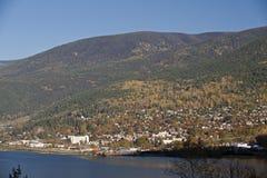 βουνά Nelson πόλεων κάτω Στοκ φωτογραφία με δικαίωμα ελεύθερης χρήσης
