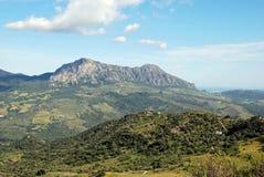 βουνά reales Ισπανία της Ανδαλουσίας Στοκ Εικόνες