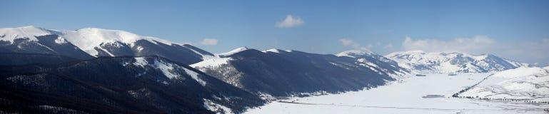Βουνά Roccaraso Στοκ Εικόνα
